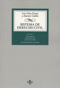 Luis Diez-Picazo et Antonio Gullon - Sistema de derecho civil Volumen I - Parte general del derecho civil y personas juridicas.