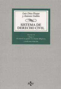 Luis Diez-Picazo et Antonio Gullon - Sistema de derecho civil Volumen II - Tomo 1, El contrato en general, la relacion obligatoria.