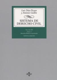 Luis Diez-Picazo et Antonio Gullon - Sistema de derecho civil, Volumen III - Tomo 2, Los derechos reales en particular.
