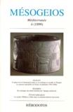 Luis-Gil Fernandez et  Collectif - MESOGEIOS N° 4 / 1999.