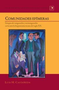 Luis h. Castañeda - Comunidades efímeras - Grupos de vanguardia y neovanguardia en la novela hispanoamericana del siglo XX.