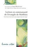Luis Martinez - Lecture en communauté de l'évangile de Matthieu.