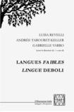 Luisa Revelli et Andrée Tabouret-Keller - Langues faibles.