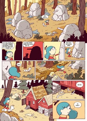 Hilda Tome 5 Hilda et la forêt de pierres