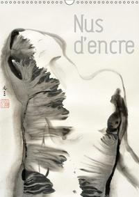 Lumi - Nus d'encre (Calendrier mural 2017 DIN A3 vertical) - Série de nus féminins à l'encre de Chine (Calendrier mensuel, 14 Pages ).