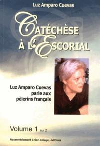 Alixetmika.fr Catéchèse à l'Escorial - Luz Amparo Cuevas parle aux pèlerins français Image