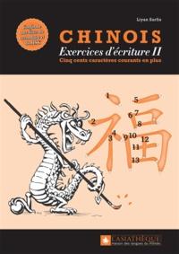 Checkpointfrance.fr Chinois : exercices d'écriture 2 - Les 500 caractères courants en plus Image