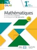 Lydia Misset-Rocherolle et Vincent Bernigole - Mathématiques 1re séries STI2D-STL Calao - enseignement commun et enseignement de spécialité.