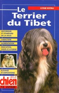 Lydie Estru - Le terrier du Tibet.