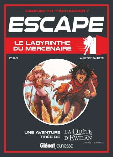 Le Labyrinthe du mercenaire. Une aventure tirée de La Quête d'Ewilan