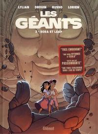 Lylian et Paul Drouin - Les géants Tome 3 : Bora et Leap.