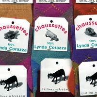 Lynda Corazza - Chaussettes.