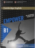Lynda Edwards et Ruth Gairns - Empower B1 Pre-intermediate Teacher's Book.