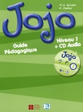 M-A Apicella et H Challier - Jojo 1 - Guide Pédagogique. 1 CD audio