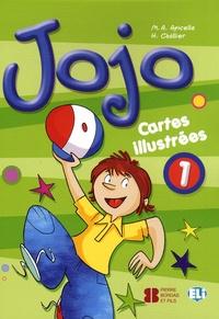 M-A Apicella et H Challier - Jojo 1 - Cartes illustrées.