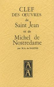Checkpointfrance.fr Clef des oeuvres de Saint Jean et de Michel de Nostredame Image