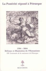 M Angeli - La postérité répond à Pétrarque : sept siècles de fortune pétrarquienne en France.