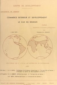 M. Biays et Ibrahim Ali Elgaali - Commerce extérieur et développement, le cas du Soudan - Développement, planification, décision publique. Thèse de Doctorat de troisième cycle de sciences économiques.
