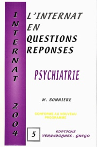 M Bonniere - Psychiatrie 2004.