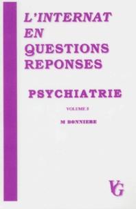 M Bonniere - Psychiatrie.