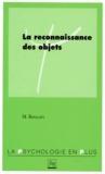 M Boucart - La reconnaissance des objets.