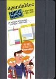 M Boulin et J-L Broust - Agendabloc gris - Famille organisée.