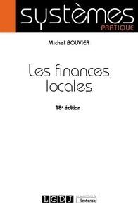 Les finances locales - M. Bouvier |