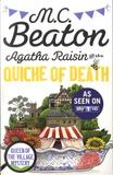 M. C. Beaton - Agatha Raisin  : Agatha Raisin and the Quiche of Death. TV Tie-In.