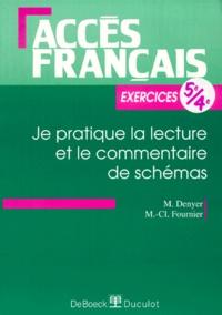 M-C Fournier et Monique Denyer - .