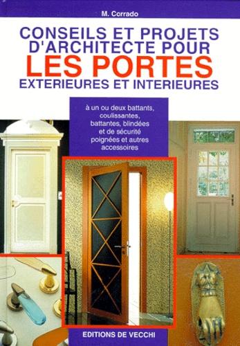 M Corrado - Conseils et projets d'architecte pour les portes extérieures et intérieures.