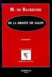 M de Baurelyre - .