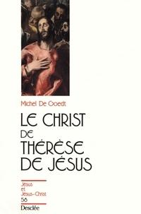 M De Goedt - Le Christ de Thérèse de Jésus.
