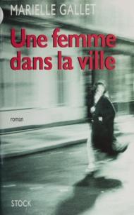 M Gallet - Une femme dans la ville.