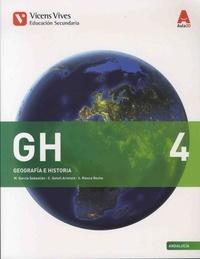 M Garcia Sebastian et C Gatell Arimont - Geografia e historia 4 - Andalucia.