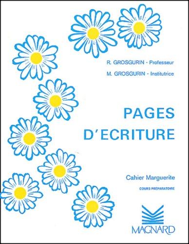 Page De Garde Cahier D'écriture Cp