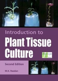 M.k. Razdan - Introduction to Plant Tissue Culture.