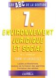 M-L Stavelot - Environnement juridique et social - Cours et exercices.