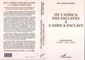 M Liniger-Goumaz - De l'Africa des esclaves à l'Africa esclave - Conférence planétaire pour la proclamation de la paix universelle, Anthropopolis, 3000, mémorandum pour l'an 3000, résumé destiné à l'assemblée plénière.