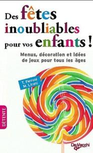 Des fêtes inoubliables pour vos enfants!.pdf