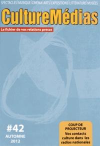 Nicolas Marc - CultureMédias N° 42, Automne 2012 : .