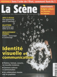 Cyrille Planson - La Scène N° 57, Eté 2010 : Identité visuelle et communication.