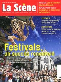 Cyrille Planson - La Scène N° 65, Juin-août 201 : Festivals, un succès renouvelé.