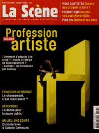 Nicolas Marc - La Scène N° 67, Décembre-janv : Profession artiste.