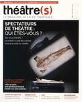 Nicolas Marc - Théâtre(s) N° 5, printemps 2016 : Spectateurs de théâtre : qui êtes-vous ?.