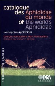 M Remaudiere - Catalogue des Aphididae du monde - Homoptera, Aphidoidea.
