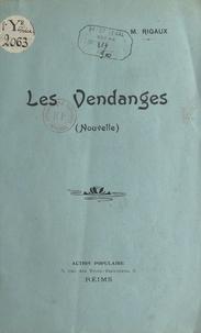 M. Rigaux - Les vendanges.