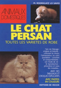 M Rodriguez Lo Savio - Le chat persan.