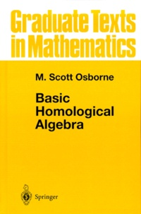 M Scott Osborne - Basic Homological Algebra.