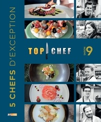 M6 Editions - Top chef saison 9 - 5 chefs d'exception.