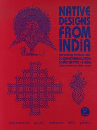Maarten Hesselt Van Dinter - Native Designs from India. 1 Cédérom